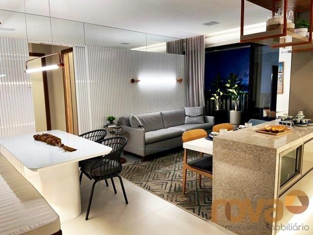 Apartamento à venda com 2 dormitórios em Setor bueno, Goiânia cod:NOV236000 - Foto 3