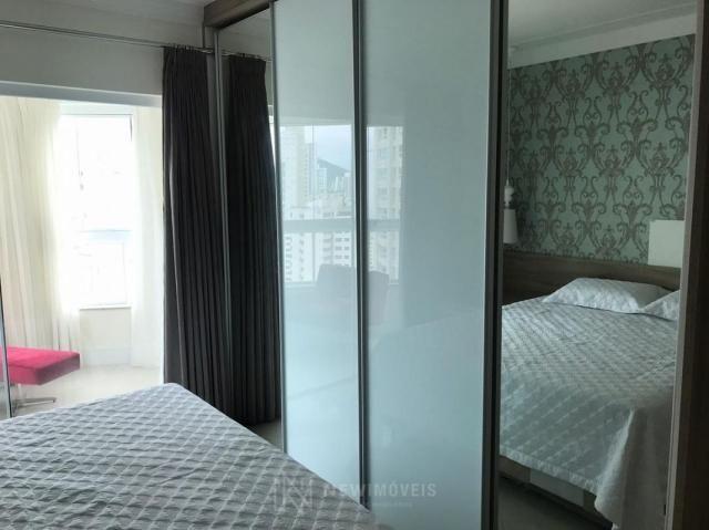 Apartamento Quadra Mar Mobiliado 3 Suítes - Foto 16