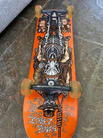 Skate Profissional Montado - Foto 4