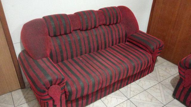 Jogo de dois sofás (Manhuaçu-MG) - Foto 3