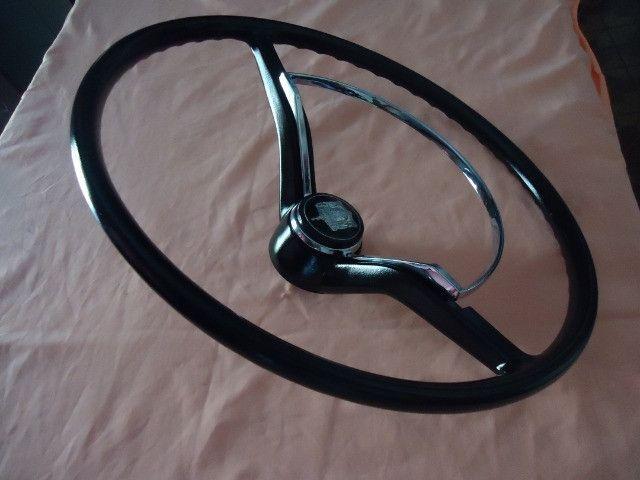 Volante cálice p/ fusca ( preto )
