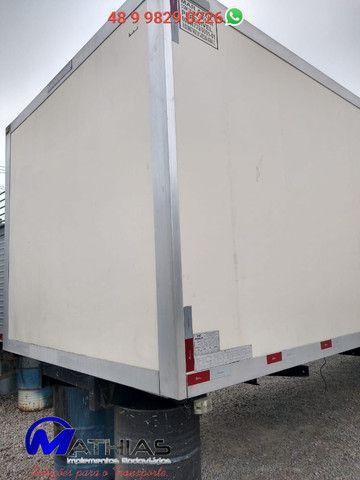 Baú frigorifico 14 paletes Peixeiro Comp 7.50m Mathias Implementos - Foto 4