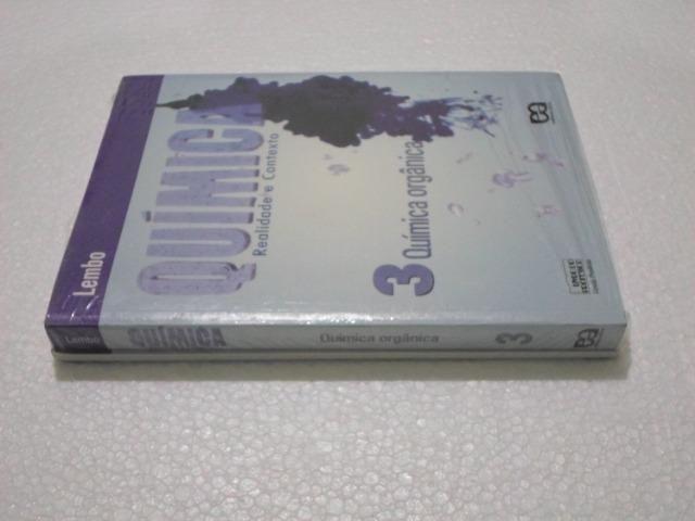 Química - Realidade e Contexto - Lembo - Volumes 1 e 3 - Novos e Lacrados - Foto 3