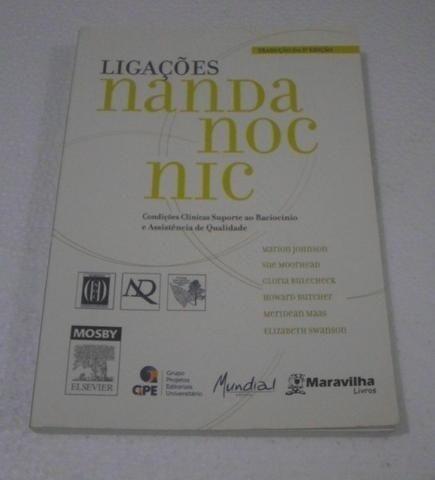 Livro Ligações Nanda Noc Nic - Enfermagem - Foto 2