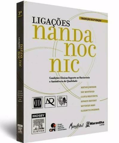 Livro Ligações Nanda Noc Nic - Enfermagem - Foto 3