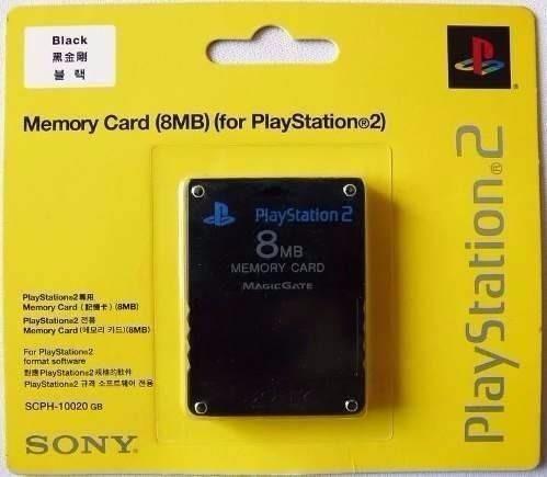 Memory Card 8 Mb Para Playstation 2 Ps2