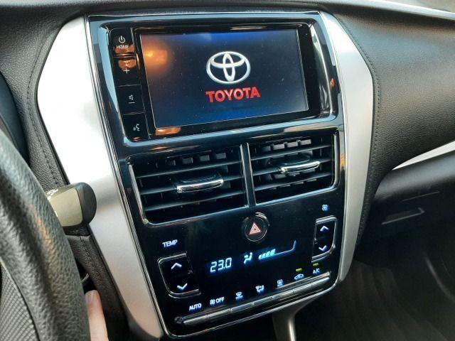 50% entrada + 48x 1.113,00 - Toyota Yaris XL Automático 2019 - Só 48.300km - Foto 6