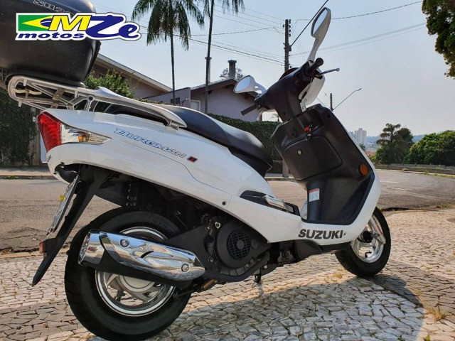 Suzuki Burgman I 125 2019 Branca com 800 km - Foto 10