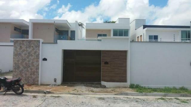 Casas em rua  privativa  no  Eusébio  de Eusébio  3 suítes  - Foto 3