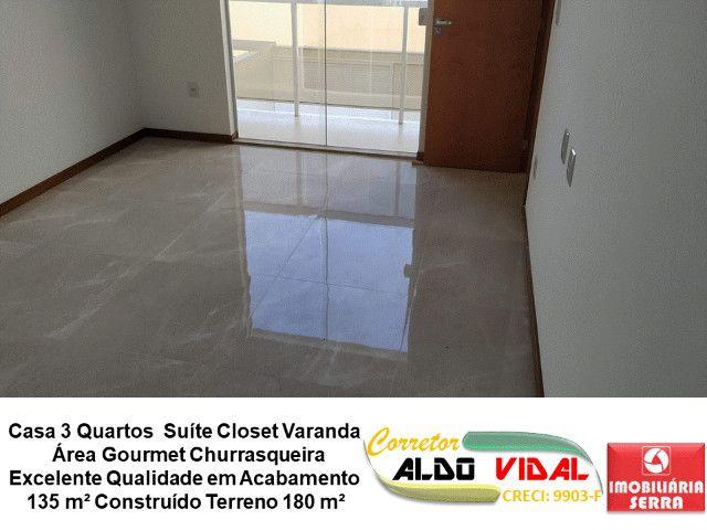 ARV 11. Casa 3 Quartos, Varanda, Suíte, Churrasqueira, Quintal Grande - Foto 14
