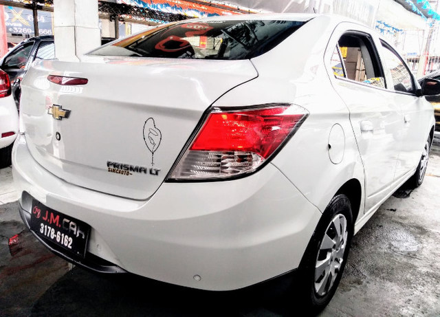 Chevrolet Prisma LT Completo + GNV - Foto 4