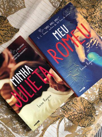 Livros seminovos, meu romeu e minha julieta