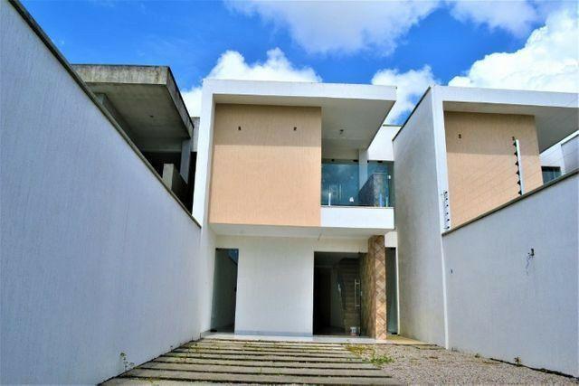 Casas em rua  privativa  no  Eusébio  de Eusébio  3 suítes  - Foto 2