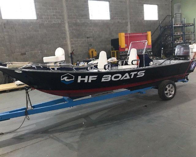 Barcos personalizados para pesca e passeio HF Boats - Foto 8