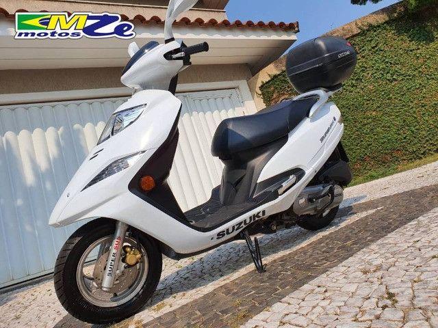 Suzuki Burgman I 125 2019 Branca com 800 km - Foto 4