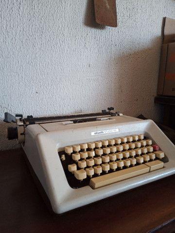 Datilografa Olivetti Studio 46 - Foto 6