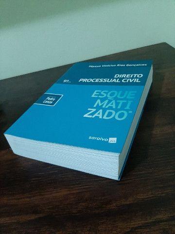 Livro Processo Civil Esquematizado 9ª Edição - Foto 2