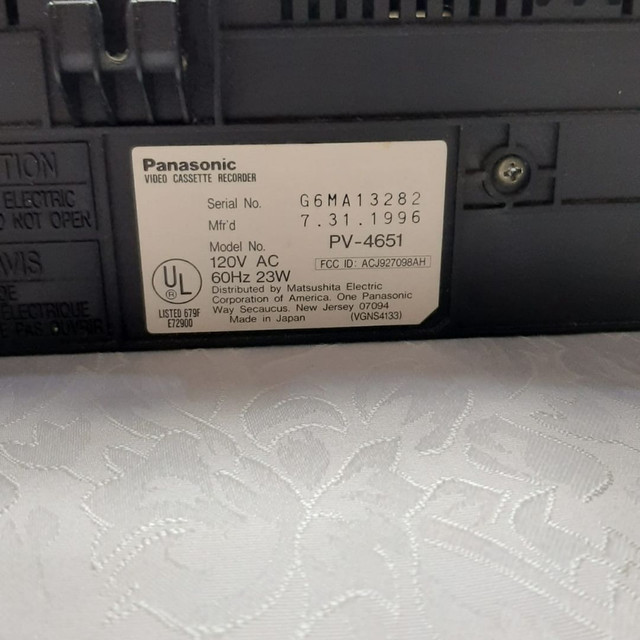 Vídeo K7 - Panasonic - Foto 3