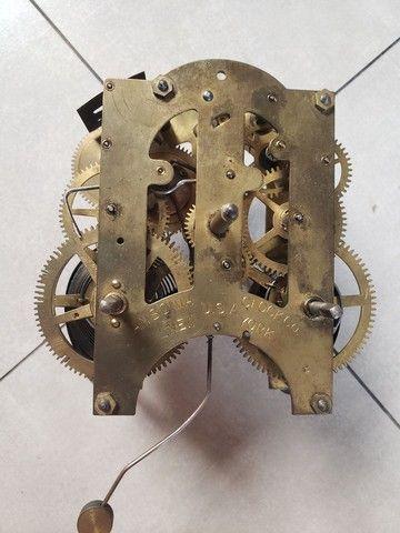 Maquina de relógio Antigo Ansonia Clock New York
