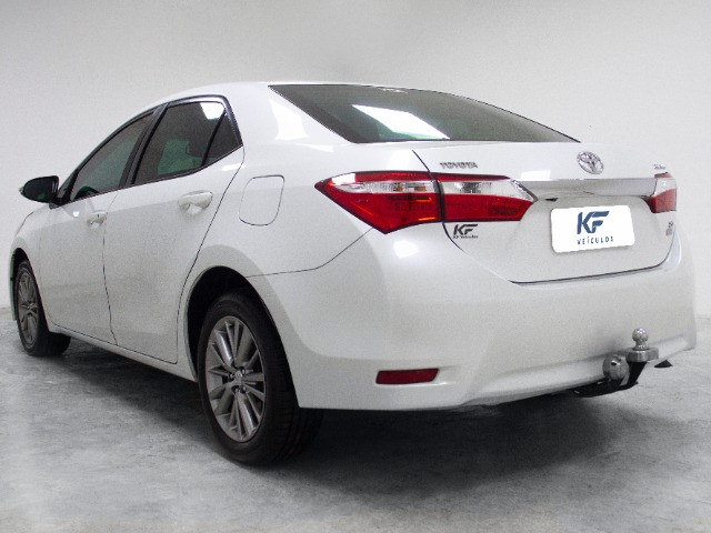 Toyota Corolla 2.0 XEI Blindado 2017 Branco Completo - Foto 3