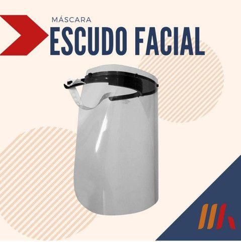 Máscara de Proteção Facial R$ 8,50