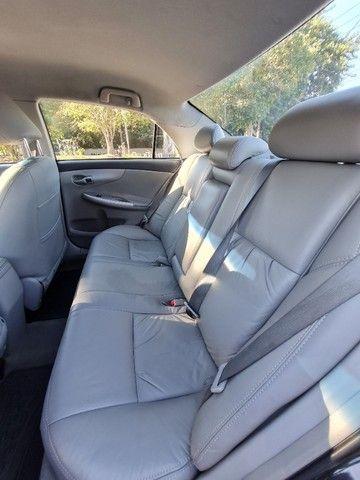 Corolla 2013 Automatico + Couro + GNV 5Ger Impecável Estado de Conservação - Foto 10