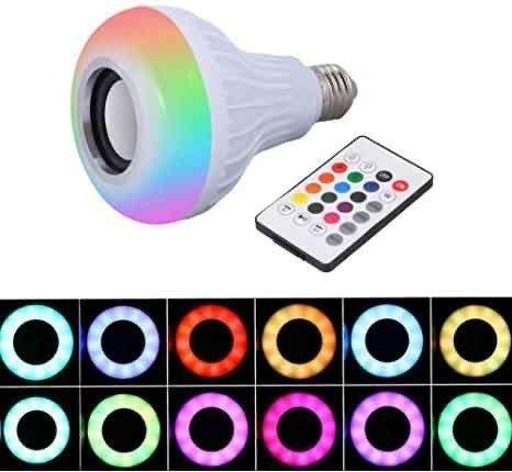 Lâmpada LED C/ MÚSICA  - Foto 3