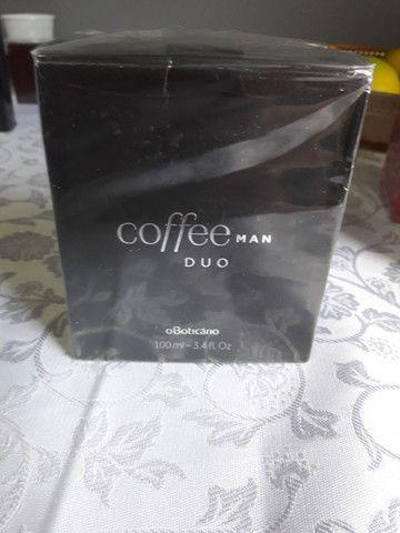Perfume coffee duo man,o boticário. Campo comprido.