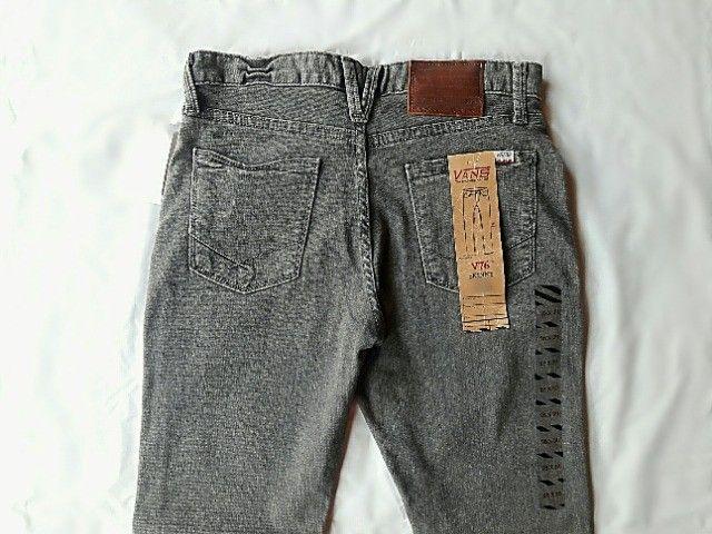 Calça Jeans Infantil Vans  - Foto 2