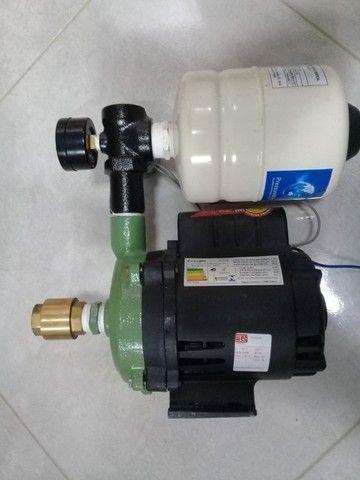 Bomba Dàgua Schneider Com Pressurizador 2 Litros Semi Nova - Foto 2