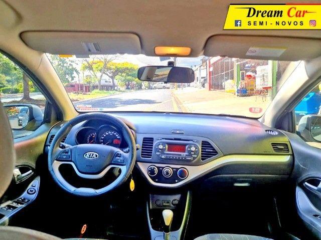 Kia Picanto 1.0 EX Flex 2012 Automático 60 Mil km - Foto 12
