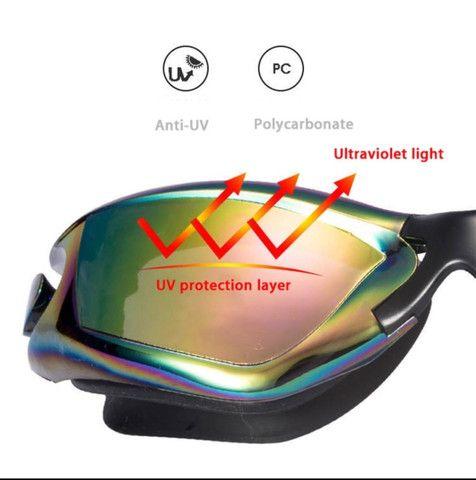Óculos De natação Profissional com tampões de ouvido e Nariz - Foto 6