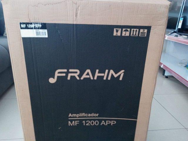 Caixa de som amplificada multiuso frahm _ MF 1200 App - Foto 3
