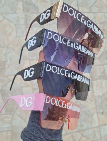Óculos de Sol Dolce Gabbana 2233 + Case completa - Proteção uv