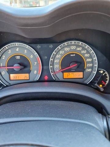 Corolla 2013 Automatico + Couro + GNV 5Ger Impecável Estado de Conservação - Foto 12