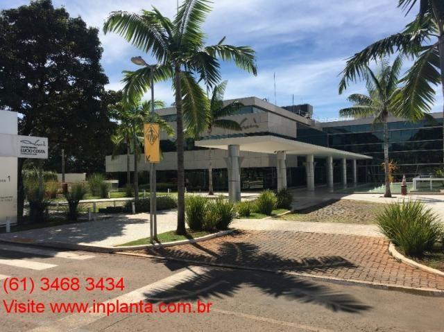 Sgas 610 centro medico lucio costa 112 m² + 4 vagas raridade