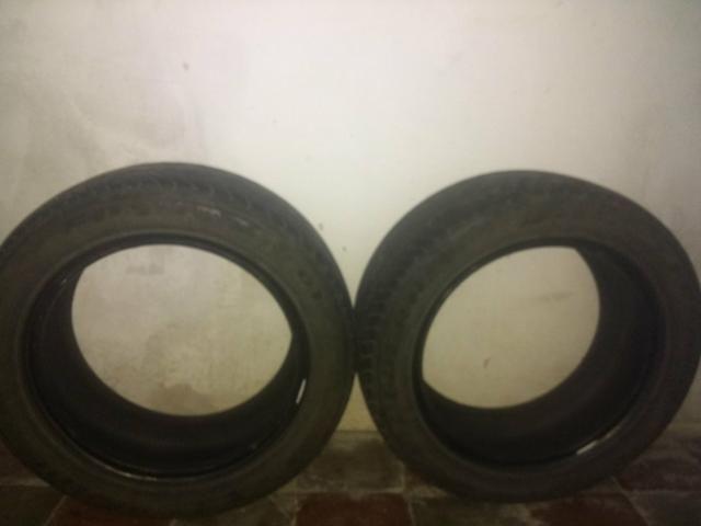 Vendo 2 pneus 195 55 15 (70)%