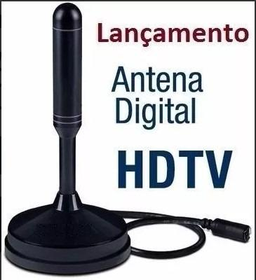 Antena Interna Tv Digital Hdtv Dtv - Full Hd Sinal Digital - Foto 2