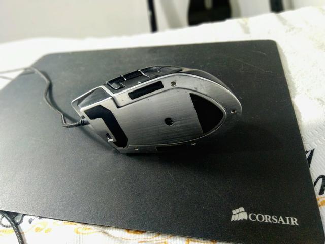 Mouse gamer Corsair m90 + brinde / Só Hoje