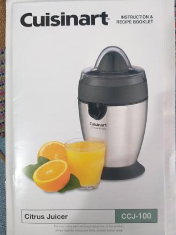 Cuisinart® juice extractor.