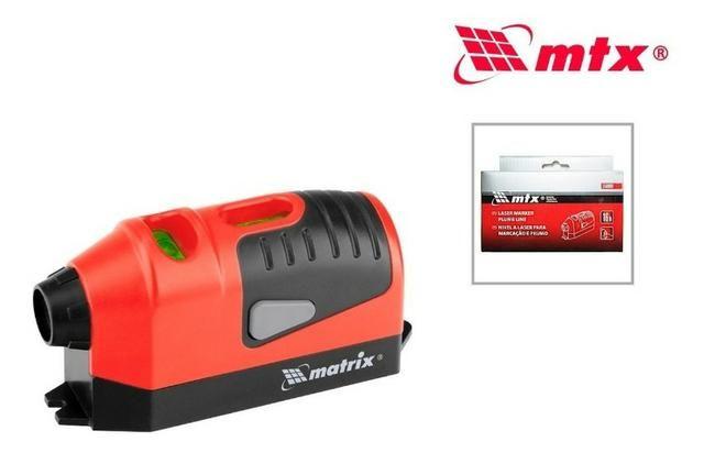 Nível Laser com Prumo 2 Bolhas MTX