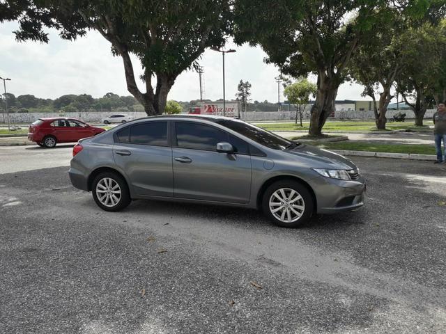 Honda civic lxs 1.8 at 2014 r$ 49.900,00. só na rafa veículos, consultor eric * - Foto 6