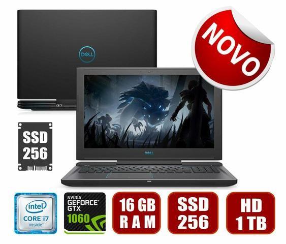 Notebook Dell G7 I7 / 16GB / SSD 256 / GTX 1060 6GB *NOVO