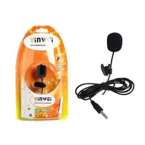 Kit Microfone Lapela + Mini Tripé Gravação Celular Youtube - Foto 3