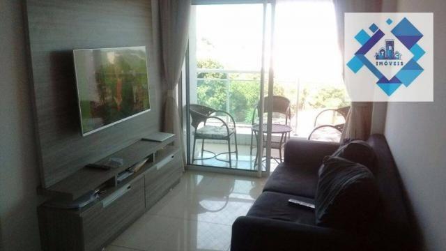 Apartamento com 3 dormitórios à venda, 72 m² por R$ 460.000,00 - Guararapes - Fortaleza/CE - Foto 14