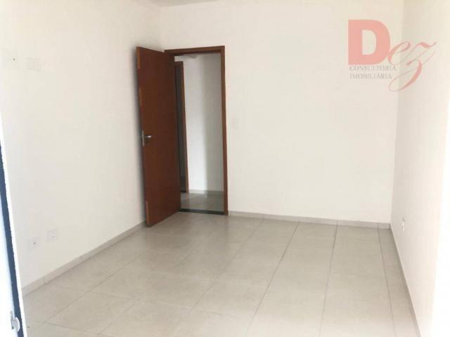 Apartamento com 2 dormitórios para alugar, 92 m² por r$ 2.200/mês - vila guilhermina - pra - Foto 14