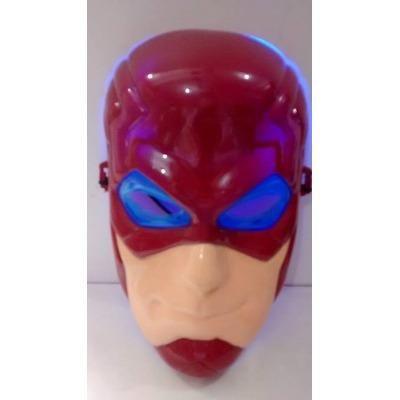 Boneco Flash Musical 25cm com Mascara Liga Da Justiça - Foto 4