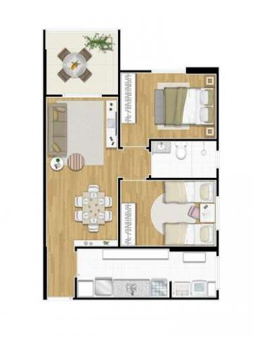 Inside - 60m² - Santos, SP - ID3986 - Foto 14