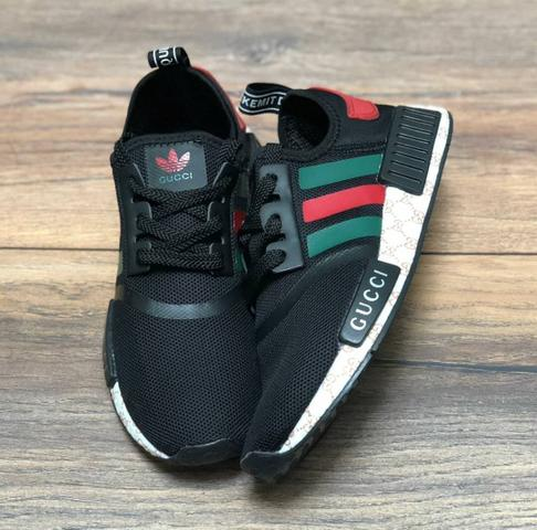 Tênis adidas nmd x gucci preto ou branco - Roupas e calçados - Mooca ... f1d5dc32bf2