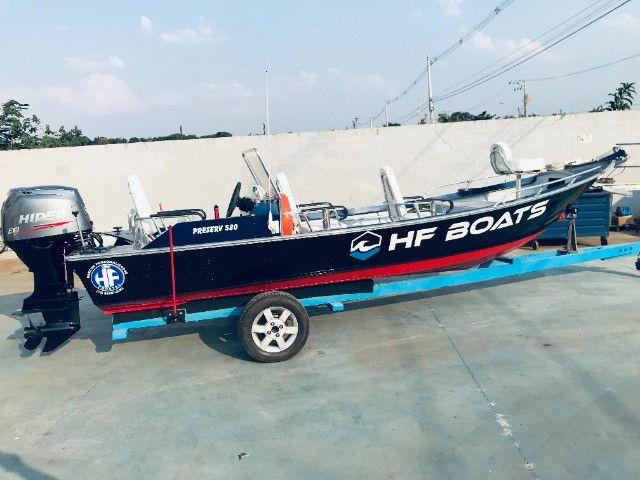 Barcos personalizados para pesca e passeio HF Boats - Foto 7